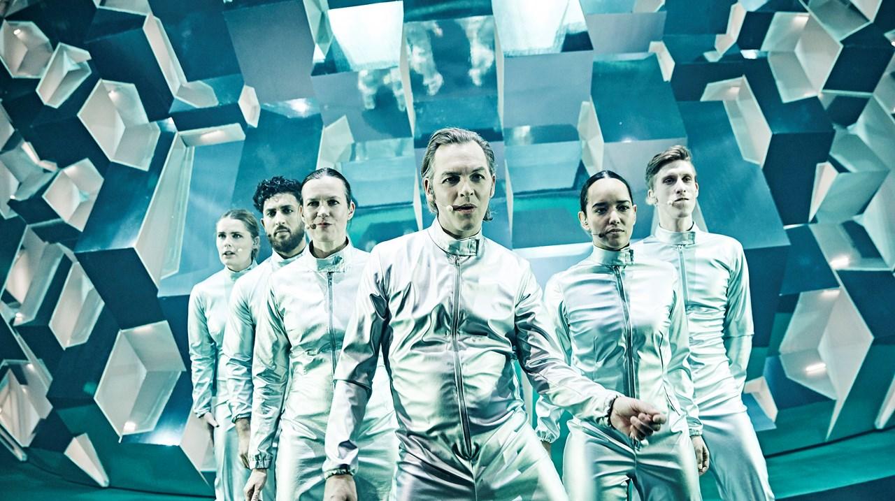 Lyden af de skuldre vi står på Aarhus Teater  Foto Emilia Therese