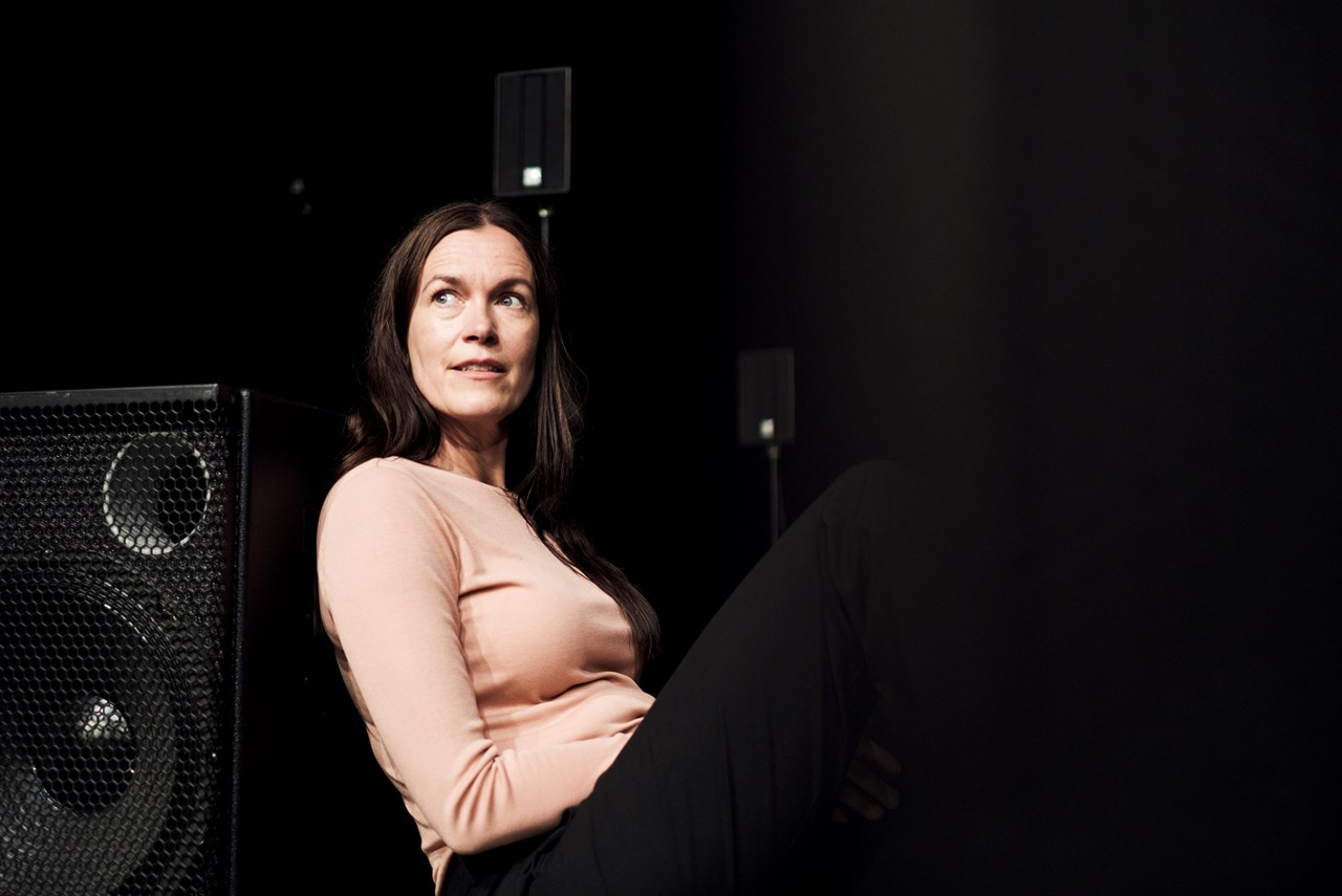 Nanna Bøttcher i Girls & Boys på Aarhus Teater